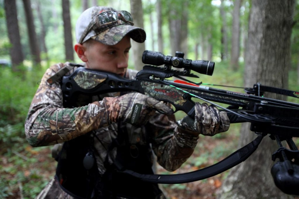 Crossbow Hunting From The Ground