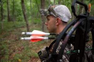 Hunting with crossbow